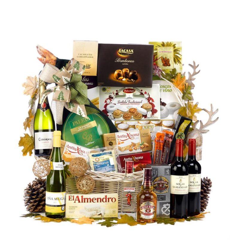 Do koszy prezentowych można dodać wybrane wino
